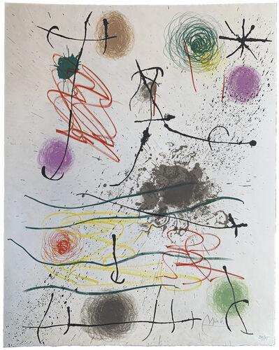 Joan Miró, 'Frontispice (Quelques fleurs pour des amis)', 1964