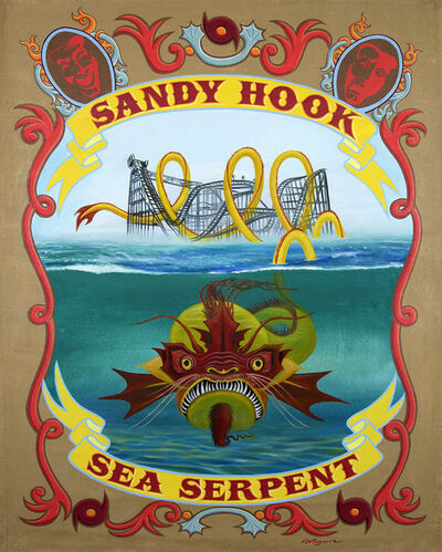 "molly mcguire, ' ""Sandy Hook Sea Serpent""', ca. 2018"