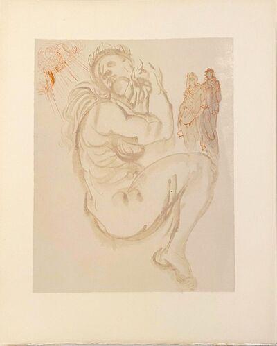 Salvador Dalí, 'La Divine Comédie - Purgatoire 19 - Le songe de Dante', 1963