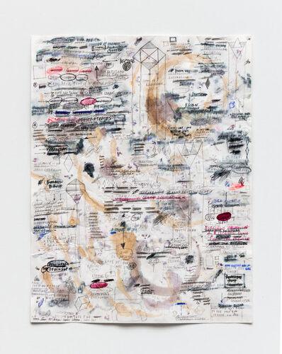 Amanda Ross-Ho, 'Untitled Time Signature (CHERRY SEASON), 2020', 2020