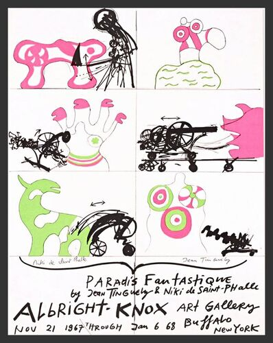 Niki de Saint Phalle, 'Paradis Fantastique', 1967