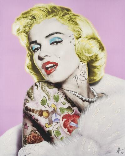 JJ Adams, 'Marilyn Monroe Tattoo', 2014