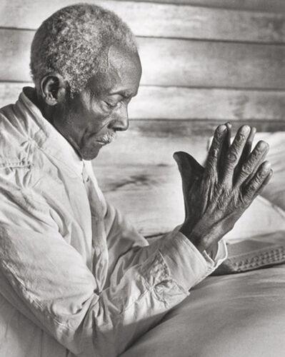 Alfred Eisenstaedt, 'Uncle Dave at Prayer, Mississippi', 1936