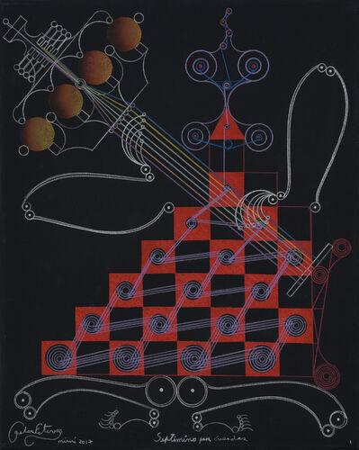 Carlos Estévez, 'Septimino para cuerdas [String Septet] I', 2017