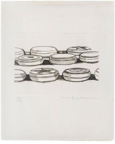 Wayne Thiebaud, 'Yo-yos', 1962
