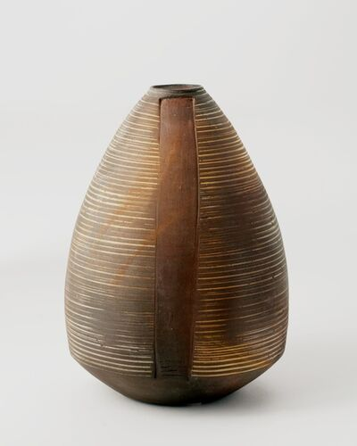 Eric Astoul, 'Ovoid, Contemporary Vase ', La Borne, France, 2010