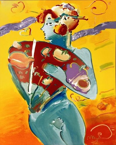 Peter Max, 'NUDE FAN DANCER', 1988