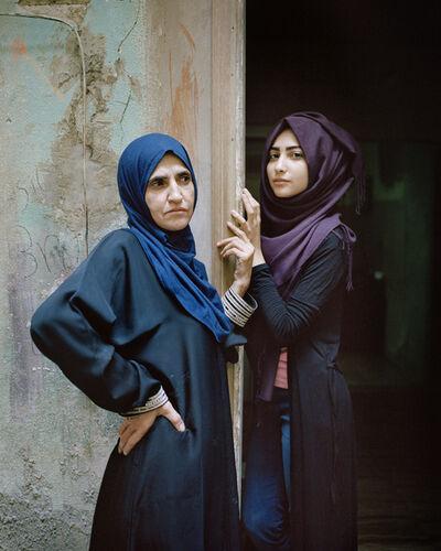 Rania Matar, 'Wafa'a and Samira, Bourj El Barajneh Palestinian Refugee Camp, Beirut, Lebanon', 2016