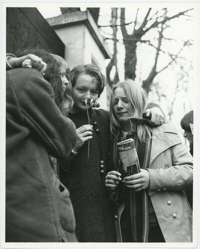 Unknown, 'Beatles Fans Outside Of Paul McCartney's Wedding in 1969', 1969
