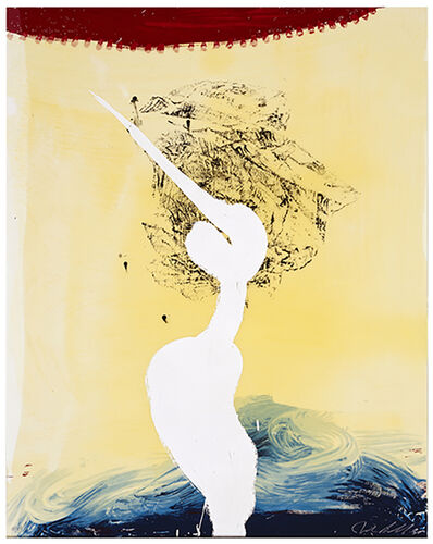 Julian Schnabel, 'Bandini (his Foe Pursued)', 1998