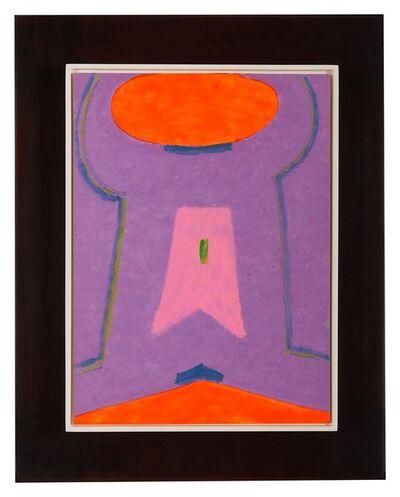 Max Ackermann, 'Komplementäres Kontrapunktisch', 1968