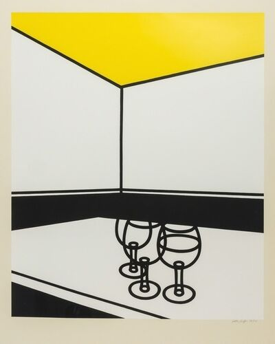 Patrick Caulfield, 'Black & White Cafe', 1973