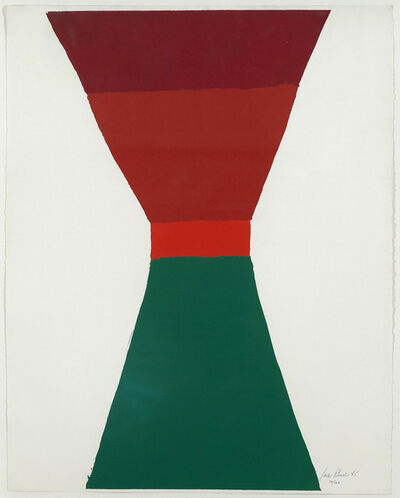 Jack Bush, 'Red-Orange-Green', 1965
