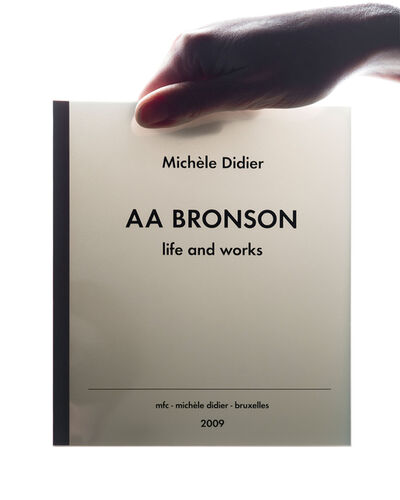 AA Bronson, 'life and works', 2009