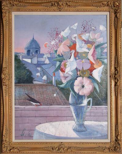 Charles Levier, 'Fleurs', ca. 1970