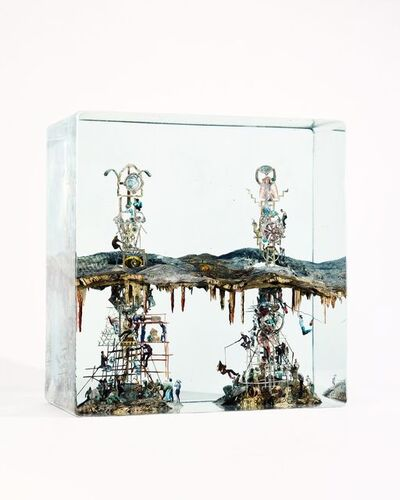 Dustin Yellin, 'Building Two Antennas', 2017