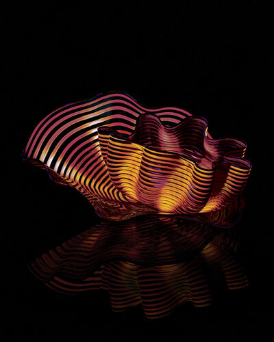 Dale Chihuly, 'Amber Plum Seaform Studio Edition ', 2015