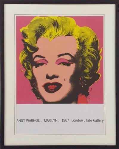 Andy Warhol, 'Marilyn Monroe From Tate Gallery', 1980