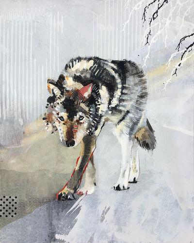 Samantha Walrod, 'Wolf Stalking', 2018