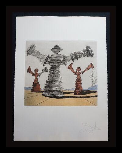 Salvador Dalí, 'Historia de Don Quichotte de la Mancha The Sinning Man', 1980