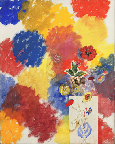 Tancredi, 'Untitled (Flowers 101% Painted by Me and by Others No. 5)', 1962