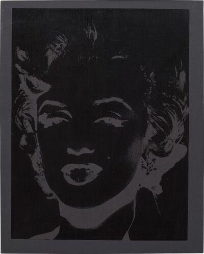 Andy Warhol, 'One Grey/ Black Marilyn (Reversal Series) II-50-160', ca. 1979-1986