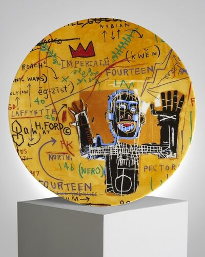 Jean-Michel Basquiat, 'All Colored Cast I', ca. 2019