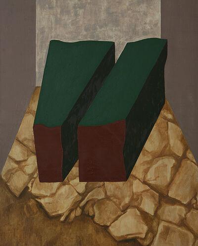 Marilena Preda Sanc, 'Modules inside the landscape III', 1980