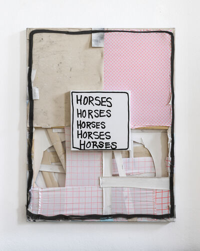 Taylor White, 'Horses, Horses, Horses', 2018