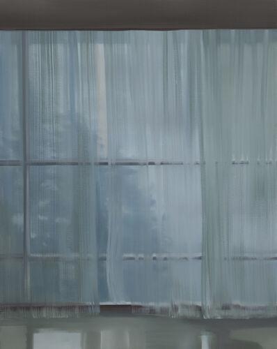 Park Kyung-A, '내 안의 창 - 커튼이 있는 풍경 4', 2009