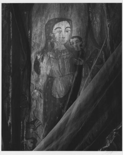 Ansel Adams, 'Altar, Las Trampas Church, New Mexico', 1943