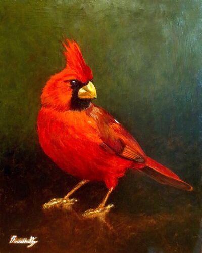 Henry Buerckholtz, 'Cardinal Study', 2020