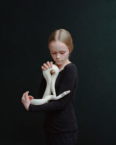 Bettina von Zwehl, 'Sari (Python Regius)', 2016