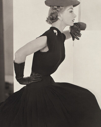 Horst P. Horst, 'Lisa, Black Hat & Gloves', 1951