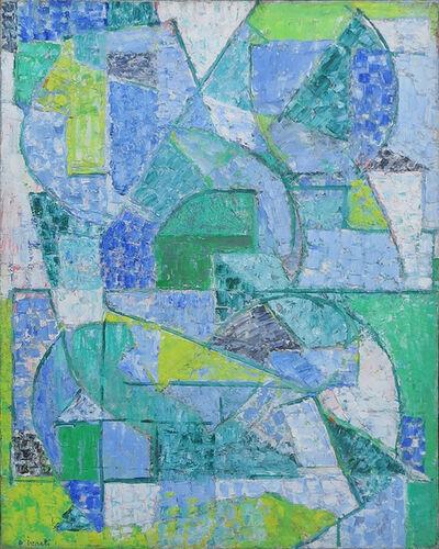 Alexandre Istrati, 'Composition verte', 1956