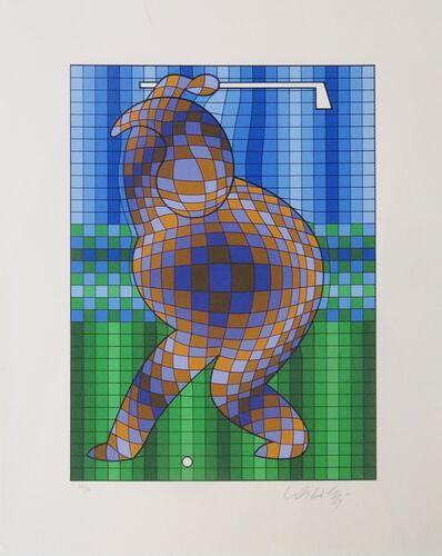 Victor Vasarely, 'Golf', ca. 1980