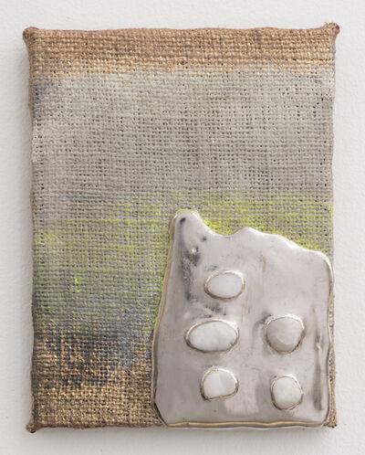 Nancy Lorenz, 'Palladium Pigment Stones Burlap', 2014