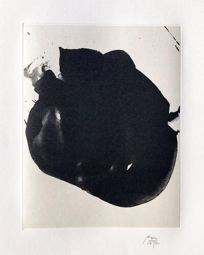 Robert Motherwell, 'Nocturne II', 1987