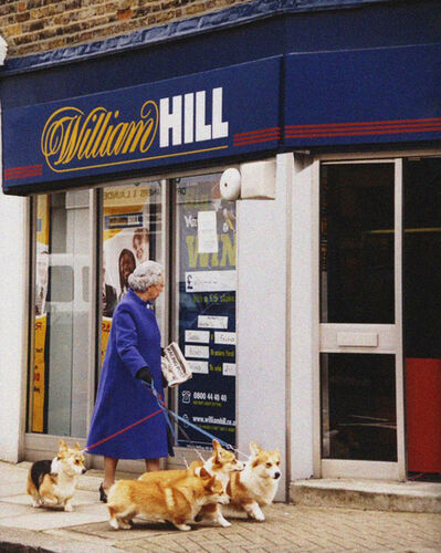 Alison Jackson, 'Queen William Hill', 2003