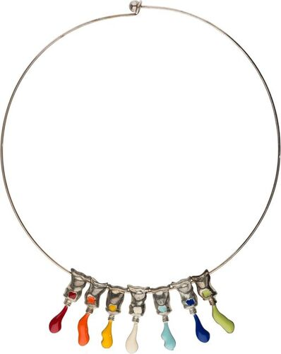 Arman, 'Paint Tube Necklace'