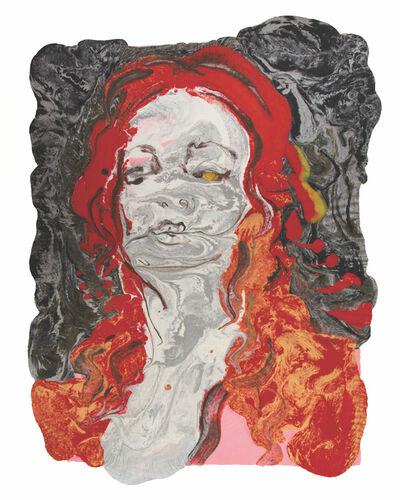 Natalie Frank, 'Woman, Hair Eater X', 2019