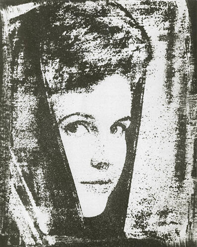 Maurice Tabard, 'Portrait  of Anne-Marie Edvina', 1961/1961