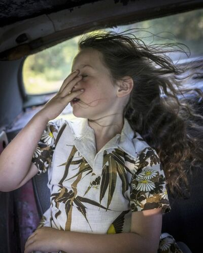 Cig Harvey, ' The Wind, Scout, Camden, Maine', 2018