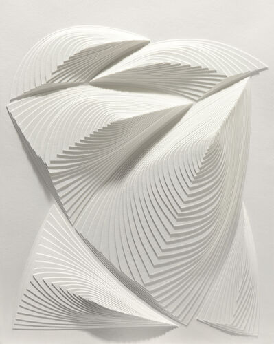 Elizabeth Gregory-Gruen, 'White Freeform - Out', 2014