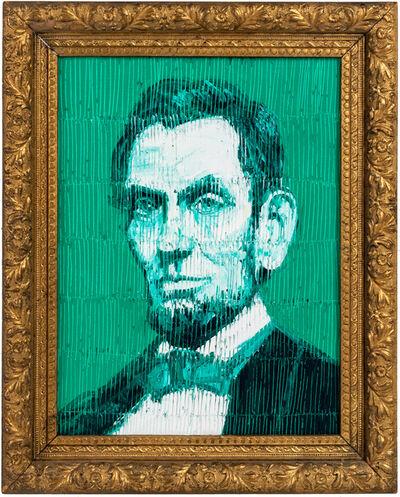 Hunt Slonem, 'Abraham Lincoln', 2021