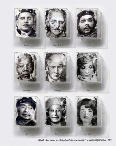 Yves Hayat, 'Les Icônes sont fatiguées', 2017