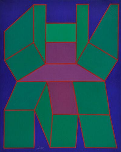 Achille Perilli, 'Il disordine della forma', 2014