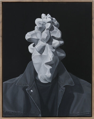 Brian Robertson, 'Portrait of the artist as a lumpy succulent in a jean jacket', 2018