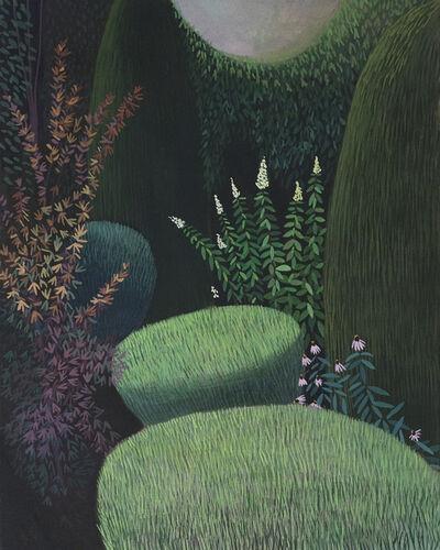 Olga Szczechowska, 'Pandemic 30 - landscape painting, minimalist painting', 2020