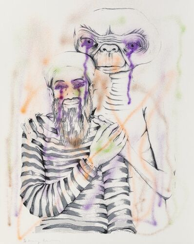 Harmony Korine, 'Untitled (ET and Osama)', 2005